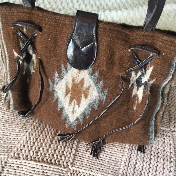 Handbags - Mohair Southwestern Purse